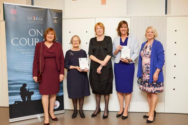 Lady Dodd, Baroness Hale, Margaret Macmillan, Dame Katherine Grainger and Kate Adie.jpg