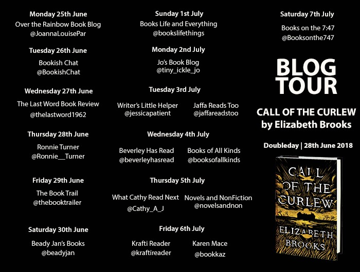 Call of the Curlew Blog Tour Poster