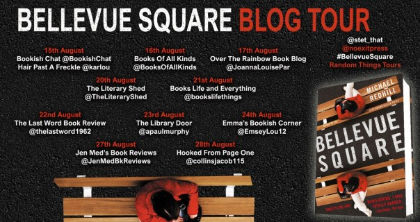 Bellevue Square Blog Tour poster