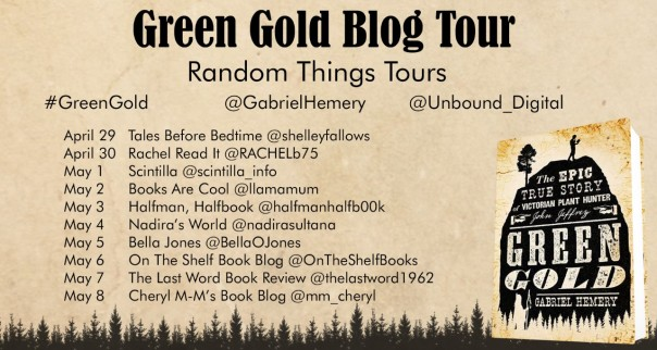 Green Gold Blog Tour Poster