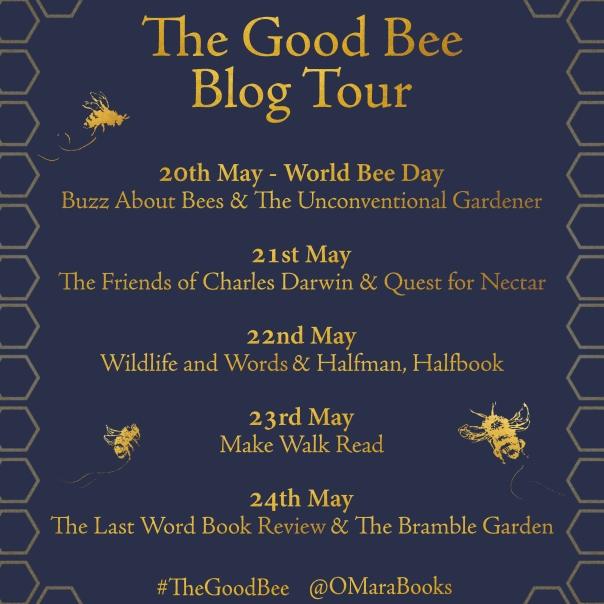 The Good Bee Blog Tour Card