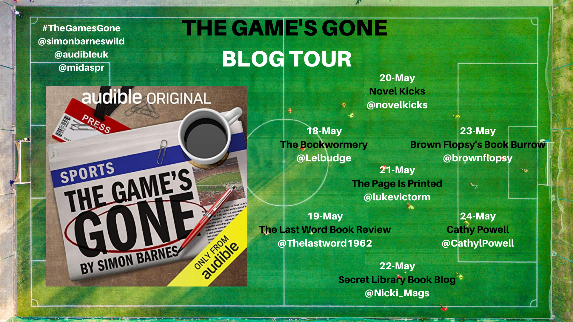 The Game's Gone Blog Tour Banner