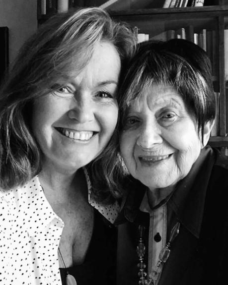 Wendy with Zuzana